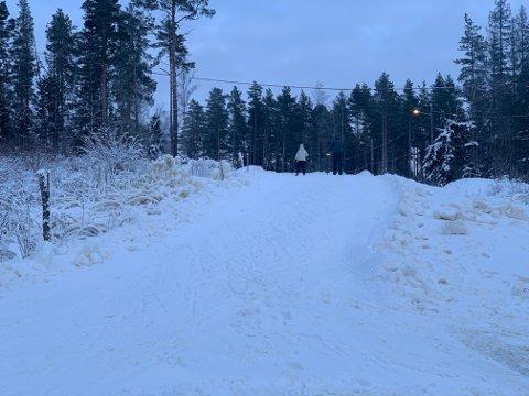 Nå har langrennsanlegget ved Noreødegården i Mossemarka åpnet.