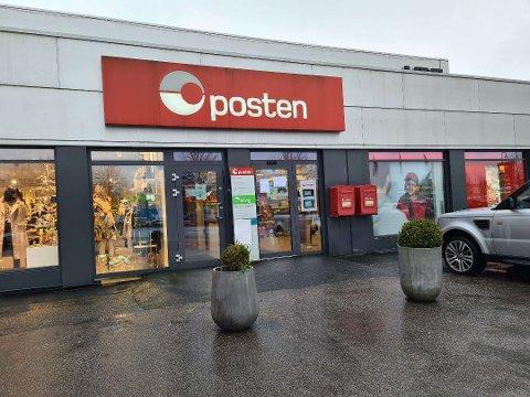 ÅPENT: Postkontoret på Høyda i Moss vil holde normale åpningstider den kommende uken.