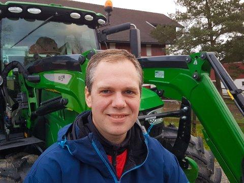 Einar Kiserud er bonde i Spydeberg og 2.kandiat for KrF til stortingsvalget i Østfold.
