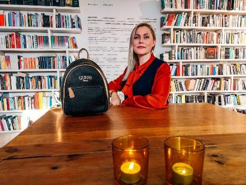 TENKER ALLTID GRØNT:  Beate Østberg er super miljøbevisst, også når det gjelder klærne hun har på
