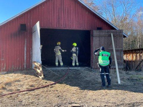 ETTERFORSKET: Politiet har etterforsket saken ferdig og konkludert med brannårsak.