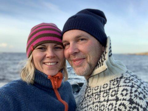 FRILUFT: Karin Ammerud Sørensen og Frank Langva har flere gode tips til en vellykket tur i marka.