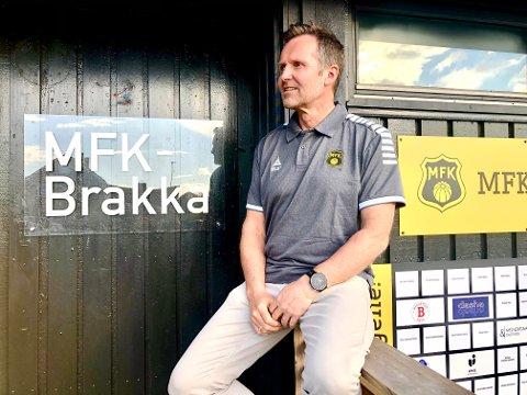 MÅ TA JOBBEN SELV: MFK-leder Geir Hagnes og resten av MFK-styret må nå ta mye mer arbeid etter at klubben har lagt ned stillingen som markedsansvarlig og lagt daglig lederstillingen i fanget på styrelederen selv.