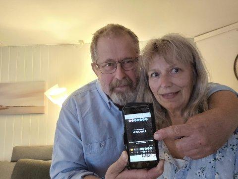 Leif Simensen og Heidi Bermingrud forteller at de fikk en moro avslutning på helgen, til tross for at den startet dramatisk.