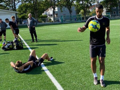 TEKNIKK OG MUSKLER: MFK-nykommer Walid Idrissi har kommet til klubben for vise frem teknikk og bruke muskler, det vil mest sannsynlig betales med en rekke scoringer. Mot Tromsdalen i ettermiddag er han klar for å gi bort juling.