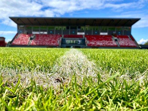 TALENTRENA: Både i august og september kommer landslag til Melløs stadion for å spille kamper og trene.