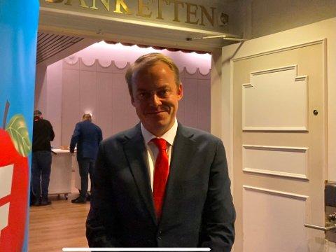 SKUFFET: Erlend Wiborg er skuffet over valgresultatet, men allikevel glad for å få fire nye år på Stortinget.