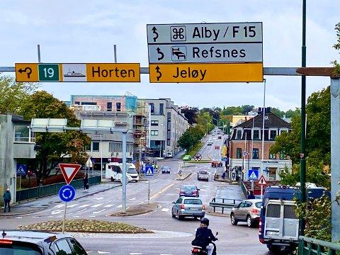 JELØYHASJ: Fire menn maskerte seg og ranet en annen mann for hasj på en adresse på Jeløy. Nå er de alle fire dømt til fengsel for gjerningen.