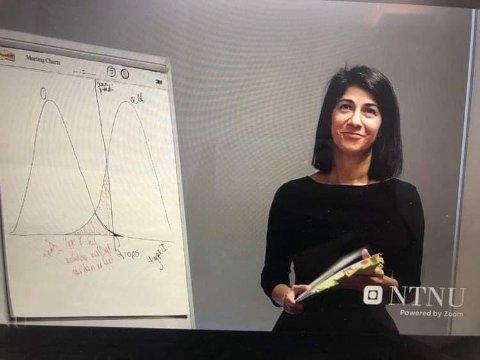 I AKSJON: Maryam Shirzadi fra Namsos har nylig disputert om epilepsi og genetikk - en oppgave hun klarte med glans.