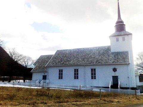 FØRST UT: Årets første kirkelige konfirmanter i Namdalen vil bli konfirmert i Dun kirke på Jøa 13. mai.