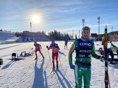 MOTIVERENDE: Thomas Hjalmar Westgård finner stor motivasjon i å trene mot VM i Trondheim i 2025.