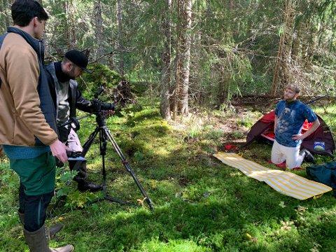 LOKALT: Alle scenene til piloten ble spilt inn på Høylandet, innenfor en radius på tre kilometer. David Skaufjord forteller at han er mer enn fornøyd med hvordan Namdalen fungerte på film.