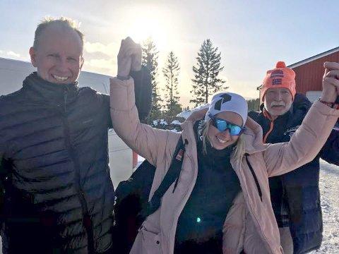 BEGGE TAPTE: Brødrene Einar (til venstre) og Ola Kvemo har hatt mange dueller om å være best i Flyktningerennet. Men i 2019 måtte begge se seg slått av niese/datter Karen Anna Kvemo.