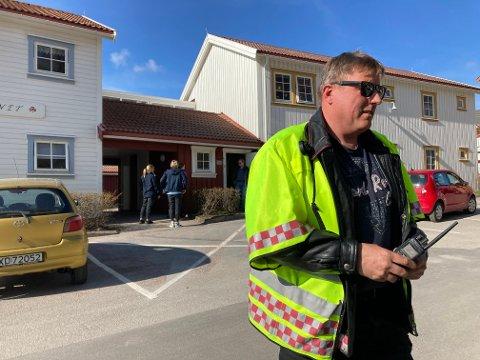 TØRRKOKING ÅRSAKEN: Tor Ove Meidal, fagleder brann, forteller at årsaken til brannalarmen var tørrkoking.