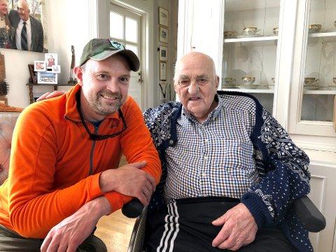 UFORGLEMMELIG: Anders Langtind møtte Joralf for første gang for to år siden. Det var et møte han aldri kommer til å glemme.