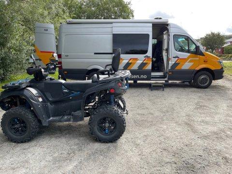 ANMELDT: Føreren av denne ATVen ble anmeldt for modifisering som gjorde at kjøretøyet gikk raskere enn tillatt. To andre sjåfører ble også anmeldt for det samme.