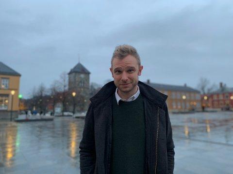 KLAR FOR NY JOBB: Snorre Valen har kost seg hjemme i Trondheim i romjula. Nå gleder han seg til å ta fatt på jobben som politisk redaktør i nysatsingen Nidaros.