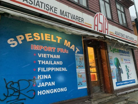 STENGT: Asia Matvarer i Trondheim har stengt dørene for godt.