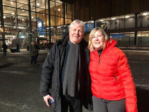 Irene Brown og Roy Hanssen gledet seg til a-ha-konsert.