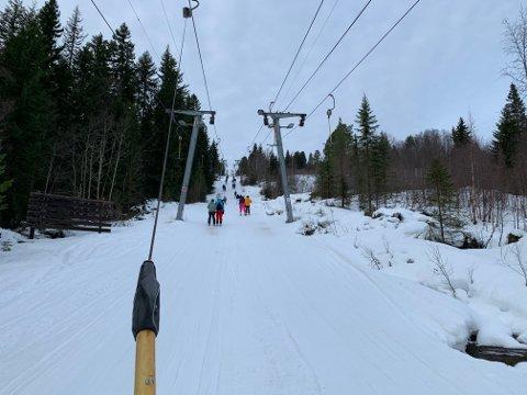 Vassfjellet Vinterpark måtte be gjester snu søndag.