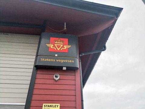 Statens vegvesen, SVV, Sandmoen kontrollstasjon