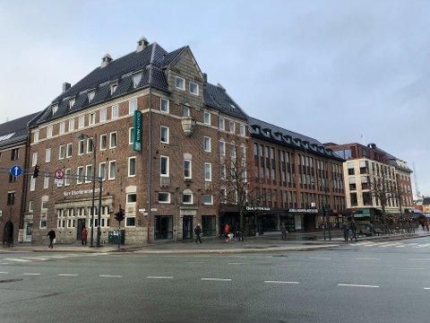 KARANTENEHOTELL: På dette hotellet i  Trondheim skal hendelsen ha funnet sted. Nå må mannen møte i retten.
