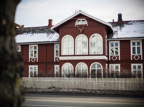 SLO TIL: I dette huset i Innherredsveien slo ranerne til i september 2018.
