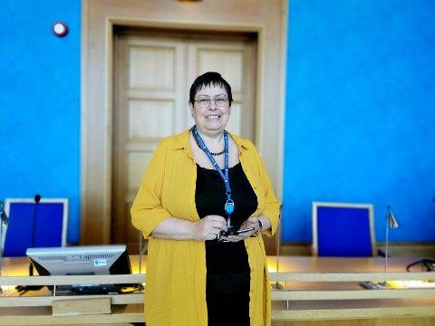 ADVARER: Ordfører Rita Ottervik  mener kampen om offentlige arbeidsplasser står mellom Trøndelag og Østlandet, ikke Trondheim og Steinkjer.