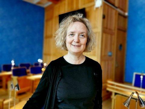 ORIENTERTE OM UNGDOMSVOLD: Camilla Trud Nereid fortalte Formannskapet at gjengangere har en sentral rolle i ungdomskriminaliteten i Trondheim. Mange av dem er ikke etnisk norske, kom det frem i hennes orientering.