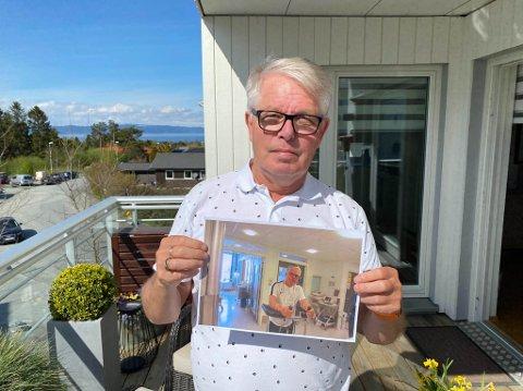 ST. OLAVS: Øystein Holm våknet til seg selv igjen på St. Olavs hospital i Trondheim.