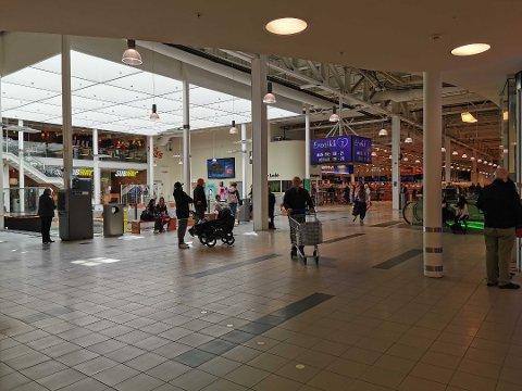 Får nye butikker: Tre nye butikker flytter inn på City Lade i løpet av høsten.