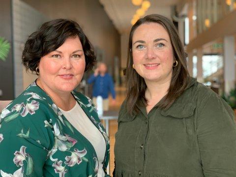 Heidi Linge, leder i Charlottenlund og Brundalen Arbeiderlag og Tine Eikevik, leder for Trondheim Arbeidersamfunn, er skuffet over innstillingen av Giske.