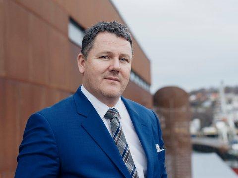 Knut Thomas Kusslid sier Trondheim Havn er i sorg. Bildet er tatt ved en tidligere anledning.
