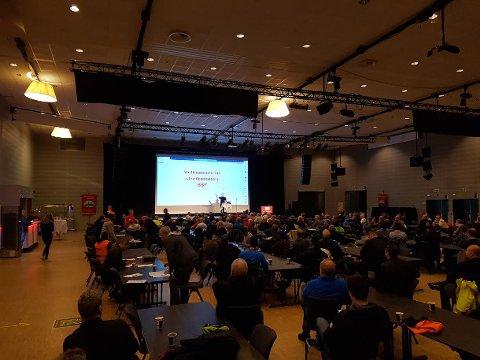 Steikemøtet på Scandic Lerkendal.