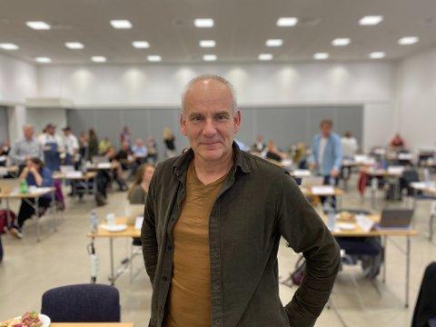 FORTSATT KONFLIKT: MDGs gruppeleder Ola Lund Renolen forteller at de fortsatt ikke er blitt enige med samarbeidspartiene.