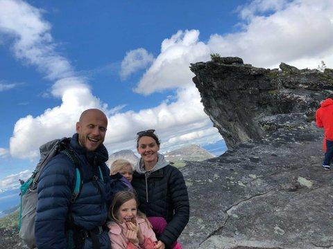 Steffen Mathisen og Ina Kvam Leraand har startet sitt eget klimaprosjekt.