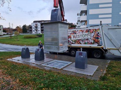 Trondheim Renholdsverk er i gang med piloten for matavfallssortering og har allerede hatt første tømming på to lokasjoner.