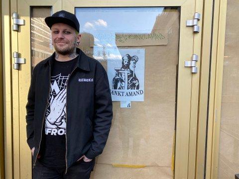 SATSER: Christian Amandus Lian tar sjansen og åpner ny bar på Tøyen Torg.