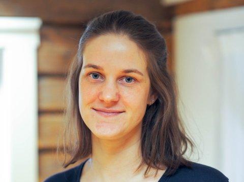 Anne Benschop Plathe (29), rådgiver og frivillighetskoordinator ved ROS-senteret for spiseforstyrrelser i Trøndelag.