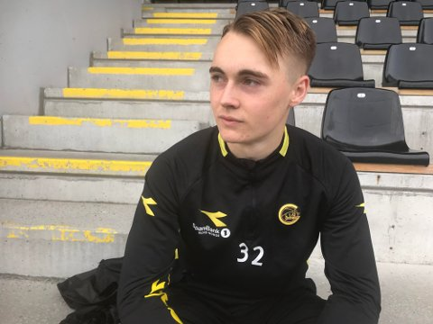 Elias Hoff Melkersen kan spille i Ranheim i 2021.