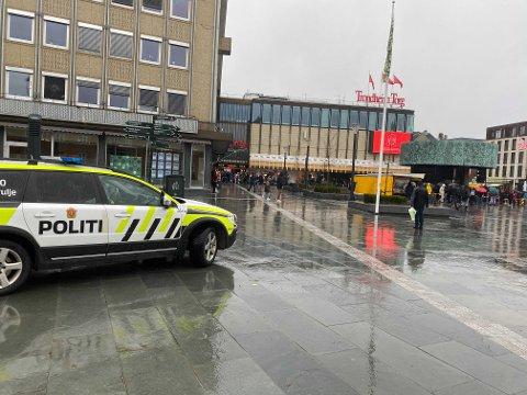 Politiet overvar arrangementer med flere enheter.