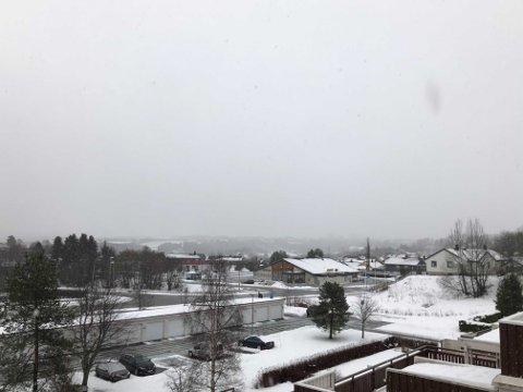 Det varsles usedvanlige brå værendringer i Trondheim lørdag og natt til søndag.