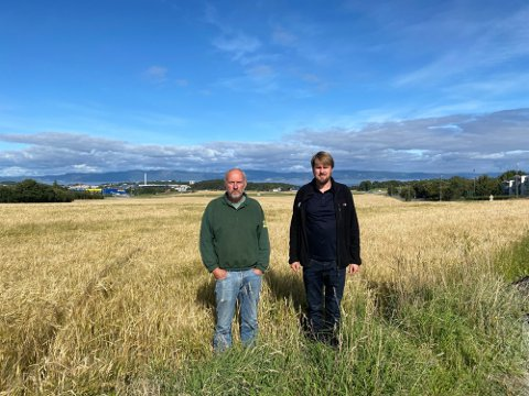Ivar og Hans Oust har jobbet i ti år for å få gjennomslag for boligbygging på jordene på Øvre Rotvoll.
