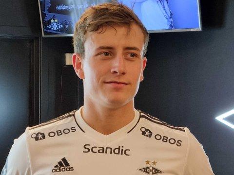 Ole Sæter fikk den etterlengtede debuten for Rosenborg søndag.