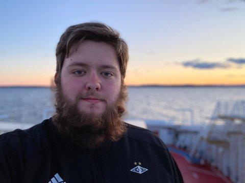 21 år gamle Didrik Nohre Lønvik fra Inderøy syns det er bra at Åge Hareide beklaget seg.