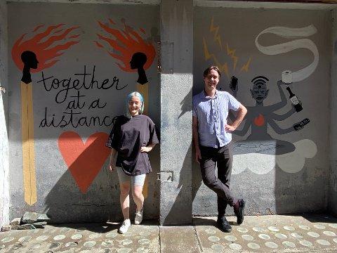 Martine Ildal Utne og Emil Henden Husby har begge lang erfaring med teater og scenekunst.