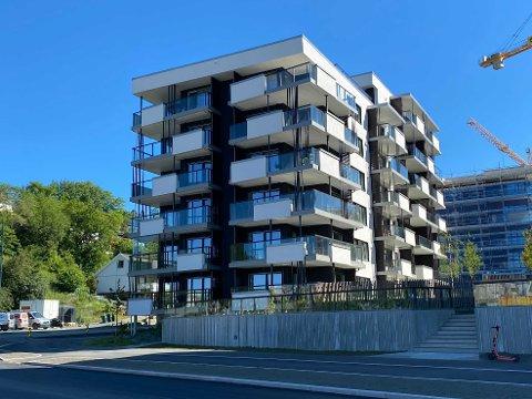 I dette området har flere boligkjøpere nå overtatt sine nye leiligheter. Ti av de 20 dyreste boligsalgene i Trondheim i juni, er knyttet til leilighetene på Nyhavna.
