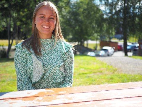 Kristin Høgsteggen Gylland er spent på å møte elevene sine for første gang.