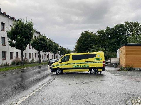 En syklist ble påkjørt i krysset Innherredsveien og Thomas  von Westens gate onsdag morgen.