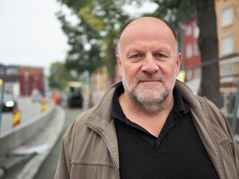 REAGERER: Ivar Koteng, eiendomsinvestor og styreleder i Trondheim Gårdeierforening, er opprørt over det som skjer i Midtbyen.